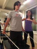 Excellent way to improve and strengthen those posture muscles and stand taller