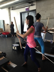 So many props to use with the Reformer