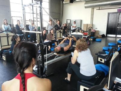Peacock Pilates London - STOTT Workshops NYC - STOTT Master Trainer, John Garey - private pilates sessions and personalised Pilates sessions in central London W2