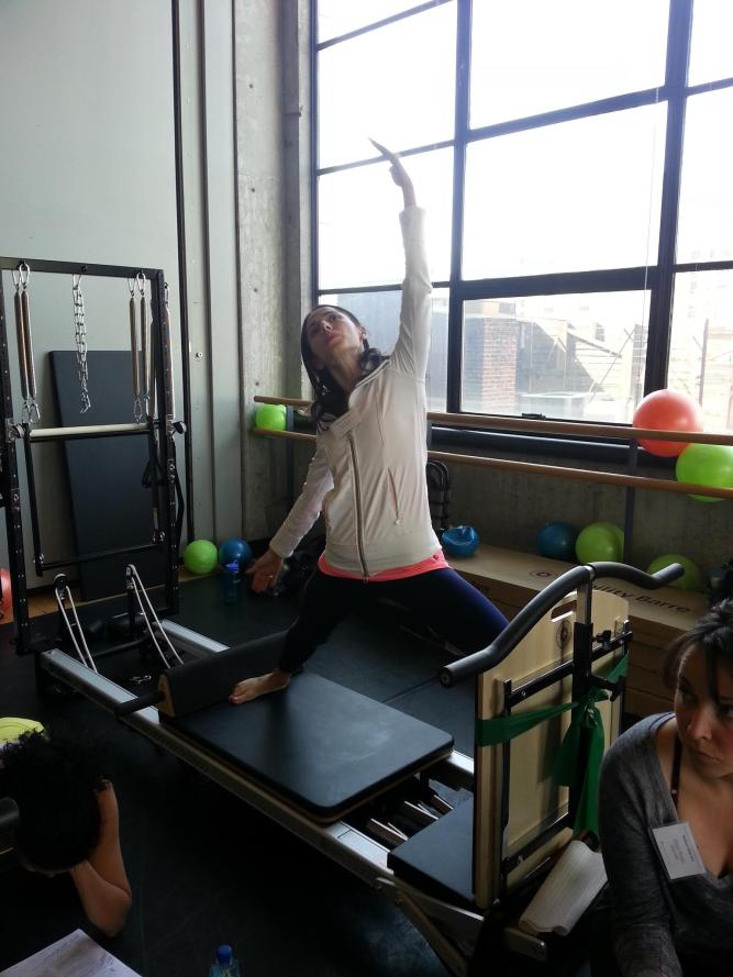 Peacock Pilates London - STOTT Workshops NYC - Vinyasa Yoga on the Reformer - private pilates sessions and personalised Pilates sessions in central London W2