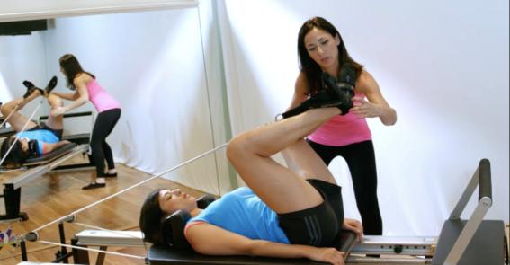 Peacock Pilates London Reformer Studio - Private Equipment Pilates sessions2