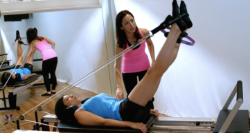 Pilates helps you strenghen and lengthen all the muscles in your body