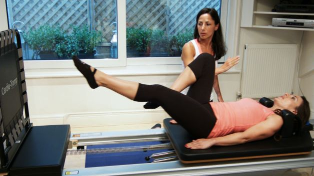 Bounce those pounds off on the Cardio-Tramp