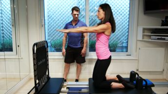 Get those toned, hollywood arms by jumping on the Cardio-Tramp