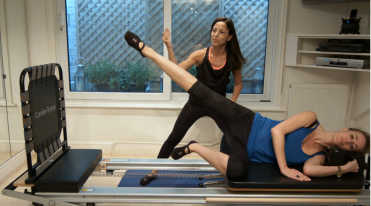 Side lying jumps are a great glute work-out