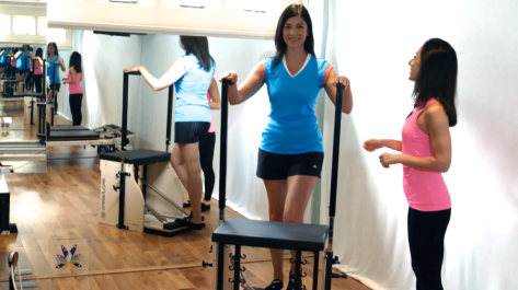 Work on your posture with the Pilates Chair