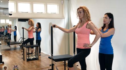 Peacock Pilates London - Reformer and Pilates Chair Studio W2 - Pilates Chair/ Stability Chair/ Wunda Chair - Balancing Wendy