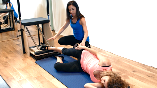 Pilates can really target your inner thigh musles