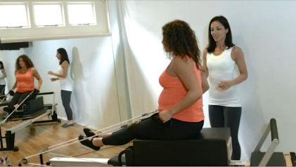 PreNatal Pilates is a great way to prepare for birth and stay fit and strong