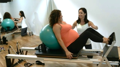 Pre-Natal Reformer Pilates - Peacock Pilates London Reformer Sessions - Pre-Natal Pilates
