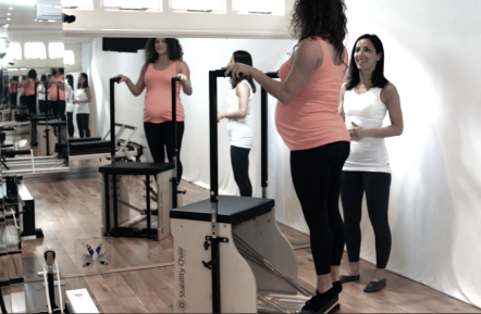 Prenatal Pilates at Peacock Pilates London Studio