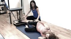 Peacock Pilates London - Reformer and Pilates Chair Studio W2 - Stability Chair: Pilates Chair: Wunda Chair - Inner thigh